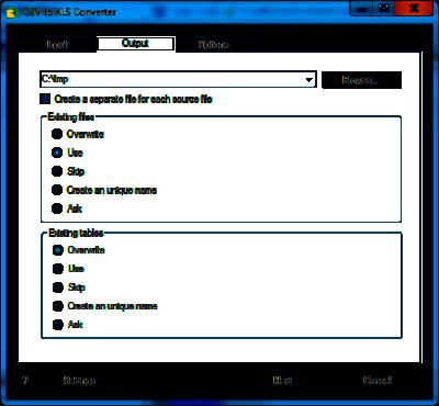 CSV to XLS (Excel) Converter