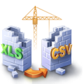 XLS (Excel) to CSV Converter